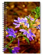 Wp Floral Study 4 2014 Spiral Notebook