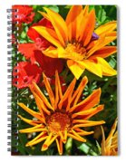 Wp Floral Study 5 2014 Spiral Notebook