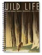 Wpa Wildlife 2 Spiral Notebook