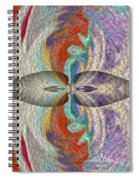 Wrap Oil Art Painting  Spiral Notebook