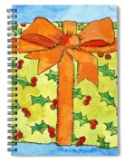 Wrapped Gift Spiral Notebook