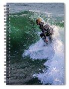 Wrapped In Santa Cruz, Ca Spiral Notebook