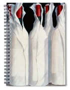 Wrapped Wine Bottles  Number One Spiral Notebook