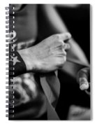 Wrapping Hands Spiral Notebook