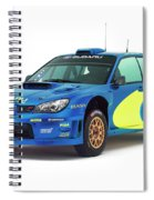 Wrc Racing Spiral Notebook