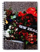 Wreaths From New Zealand And Our Navy Spiral Notebook