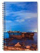 Wreck Spiral Notebook