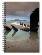 Wreck Of Helvetia Spiral Notebook