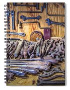 Wrenches Galore Spiral Notebook