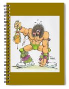 Wrestlemania Spiral Notebook