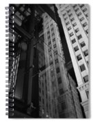 Wrigley Building Reflections Spiral Notebook