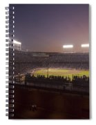 Wrigley Field At Dusk 2 Spiral Notebook