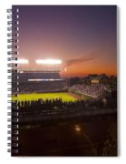 Wrigley Field At Dusk Spiral Notebook
