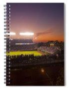 Wrigley Field At Dusk Spiral Notebook