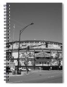 Wrigley Field - Chicago Cubs 21 Spiral Notebook