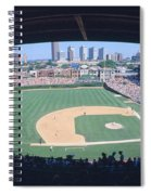 Wrigley Field, Chicago, Cubs V Spiral Notebook