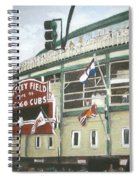 Wrigley Field Spiral Notebook