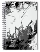 Writing In Snow Spiral Notebook