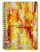 Written In Particles And Waves Spiral Notebook