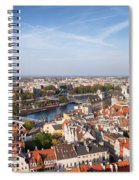 Wroclaw Cityscape In Poland Spiral Notebook