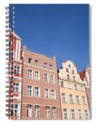Wroclaw Old Town Houses Spiral Notebook