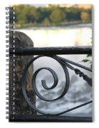 Wrought Iron At Niagara Falls Spiral Notebook