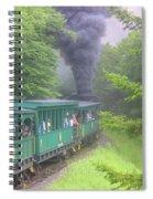 Wv Passenger Car 15 Spiral Notebook
