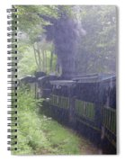 Wv Passenger Car 16 Spiral Notebook