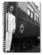 Ww I: Red Cross Railroad Spiral Notebook