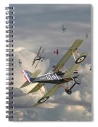 Ww1 - 'wings' Spiral Notebook
