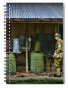 Ww2 American Medic Spiral Notebook
