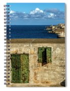 Ww2 Fortification Door Spiral Notebook