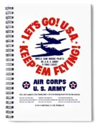 Us Army Air Corps - Ww2 Spiral Notebook
