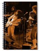 Ww#7 Enhanced In Amber Spiral Notebook