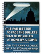 Wwi: Poster, 1915 Spiral Notebook