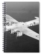 Wwii, Boeing B-17 Flying Fortress, 1940s Spiral Notebook