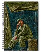 Wwii Radioman Spiral Notebook