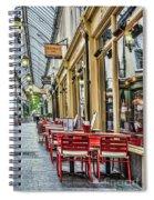 Wyndham Arcade Cafe 2 Spiral Notebook