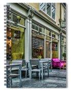 Wyndham Arcade Cafe 3 Spiral Notebook