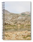 Wyoming At Altitude 4 Spiral Notebook
