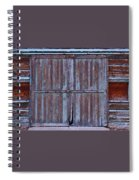 Wyoming Blue Doors Spiral Notebook