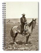 Wyoming: Cowboy, C1883 Spiral Notebook
