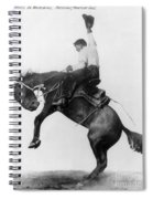 Wyoming: Cowboy, C1911 Spiral Notebook