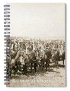 Wyoming: Cowboys, C1883 Spiral Notebook