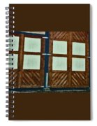 Wyoming Garage Abstract Spiral Notebook