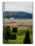Wyoming Landscape 51a Spiral Notebook