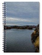 Wyoming Morning River Spiral Notebook