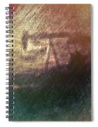 Wyoming Pump Jack Spiral Notebook