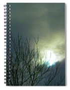Wyoming Sky Spiral Notebook