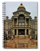 Wyoming State Capital Building  Spiral Notebook